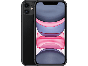 APPLE iPhone 11 - 128 GB Zwart
