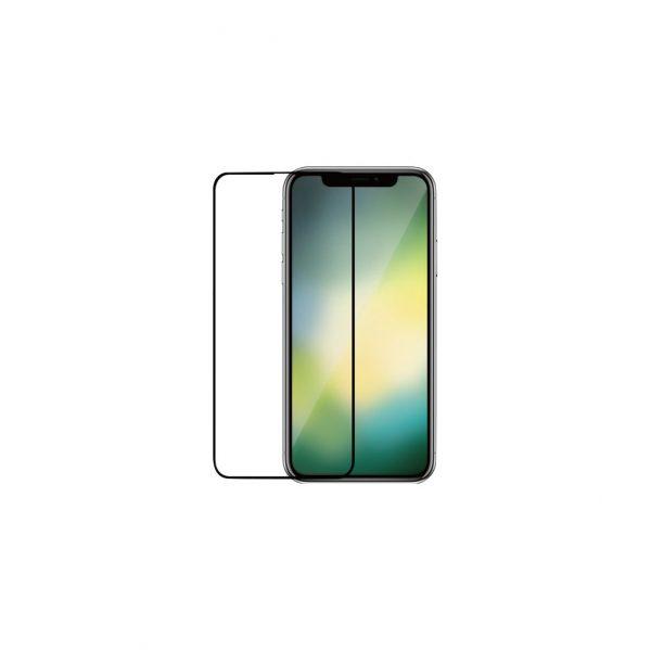Azuri Gehard Glas Apple iPhone Xr/11 Screenprotector Glas Zwart