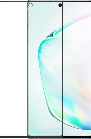Azuri Rinox Curved Samsung Galaxy Note 10 Plus Screenprotector Glas Zwart