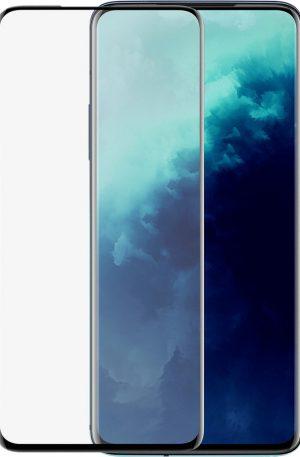 Azuri Rinox OnePlus 7T Pro Screenprotector Gehard Glas Zwart