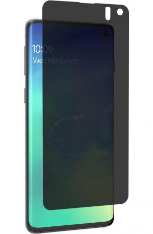 InvisibleShield Ultra Privacy Samsung Galaxy S10 Screenprotector Plastic