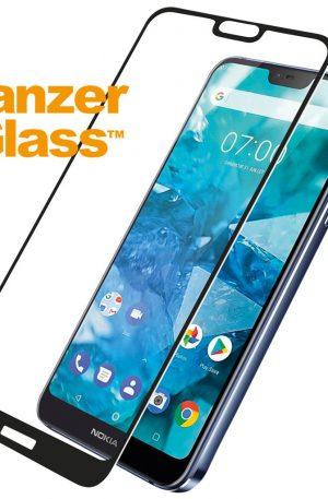 PanzerGlass Nokia 7.1 Screenprotector Glas Zwart