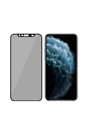 PanzerGlass Privacy Camslider iPhone X/Xs/11 Pro Screenprotector Glas zwart