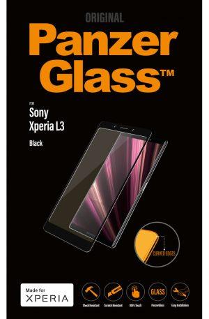 PanzerGlass Sony Xperia L3 Screenprotector Glas Zwart