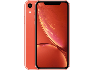 APPLE iPhone Xr - 128 GB Koraal (Oranje)