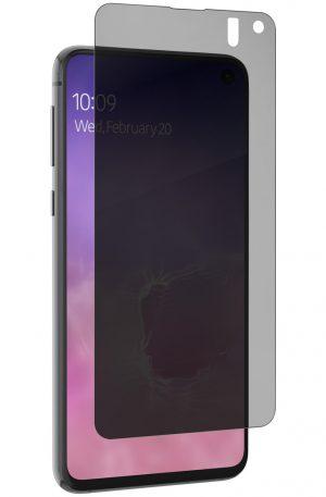 InvisibleShield Ultra Privacy Samsung Galaxy S10e Screenprotector Plastic