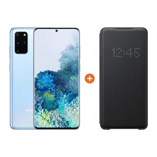 Samsung Galaxy S20 Plus 128GB Blauw 5G + Samsung Led View Bo