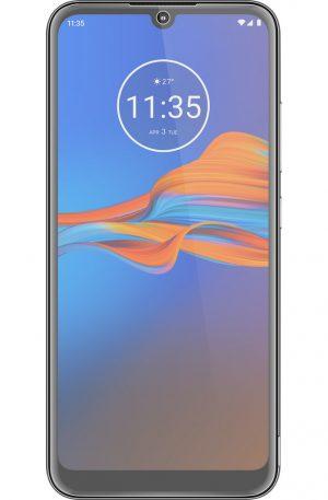 Azuri Motorola Moto E6 Plus Screenprotector Glas Zwart