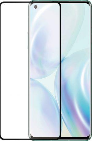 Azuri Rinox Case Friendly OnePlus 8 Screenprotector Glas Zwarte Rand