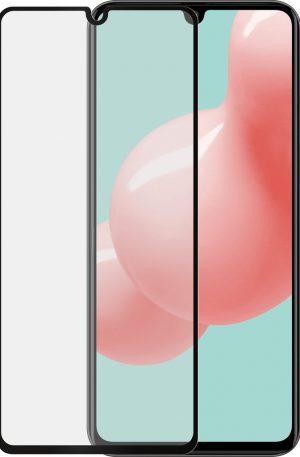 Azuri Rinox Case Friendly Samsung Galaxy A41 Screenprotector Glas Zwarte Rand