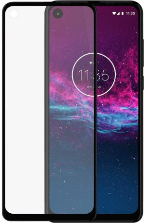 Azuri Rinox Motorola One Action Screenprotector Gehard Glas