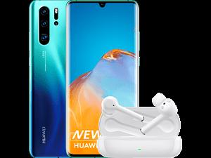 HUAWEI P30 Pro New Edition - 256 GB Aurora + Freebuds 3i