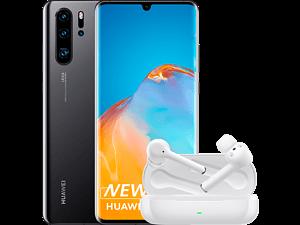 HUAWEI P30 Pro New Edition - 256 GB Zwart + FreeBuds 3i