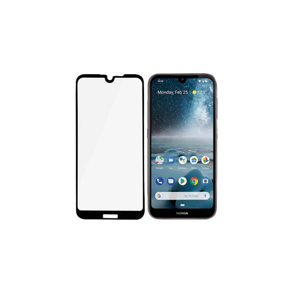 PanzerGlass Case Friendly Nokia 4.2 Screenprotector Glas Zwart