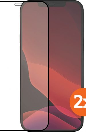 Azuri Tempered Glass Apple iPhone 12 / 12 Pro Screenprotector Duo Pack