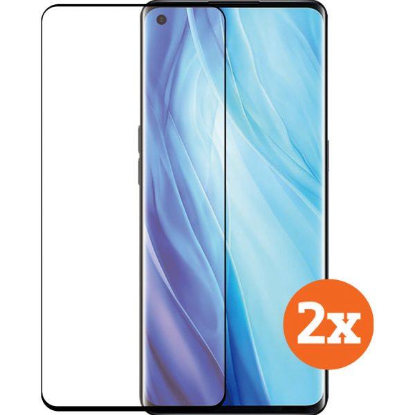Azuri Tempered Glass OPPO Reno 4 Screenprotector Duo Pack