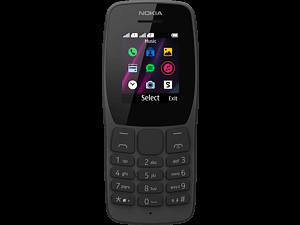 NOKIA 110 - 4 MB Dual-sim Zwart