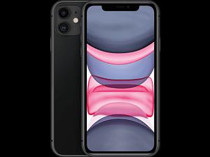 APPLE iPhone 11 - 64 GB Zwart