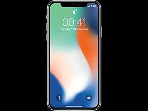 APPLE iPhone X - 256 GB Zilver