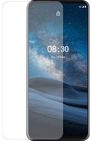 Azuri Rinox Case Friendly Nokia 8.3 Screenprotector Glas