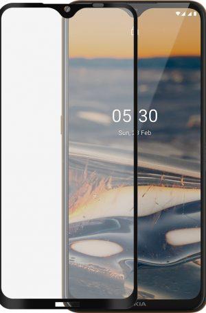 Azuri Tempered Glass Nokia 5.3 Screenprotector Rinox Armor Zwart