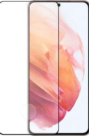 Azuri Tempered Glass Samsung Galaxy S21 Screenprotector Rinox Armor Zwart