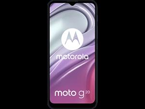 MOTOROLA Moto G20 - 64 GB Breeze Blauw