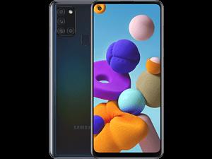 SAMSUNG Galaxy A21s - 64 GB Zwart